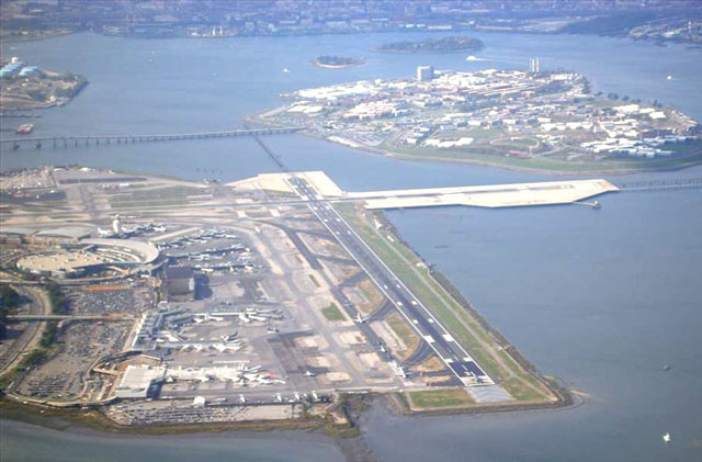 Aeroporto New York Newark : Laguardia kennedy e newark nos últimos lugares da lista