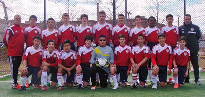 Os Rebels do Ironbound Soccer Club