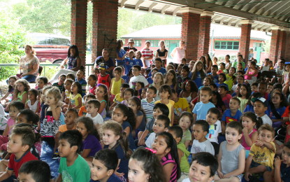 IRONBOUND: Puppet show brings out smiles at Riverbank Park
