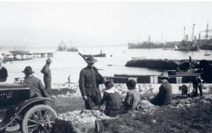 Ataque a Ponta Delgada em 1917 motivou criação  da primeira base naval dos EUA nos Açores