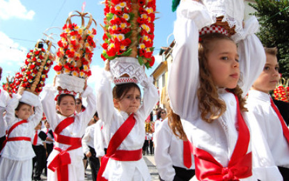 Meio milhar de tabuleiros desfilam em Julho em Tomar