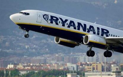 Ryanair prevê contratar 70 pessoas  para nova base de Ponta Delgada