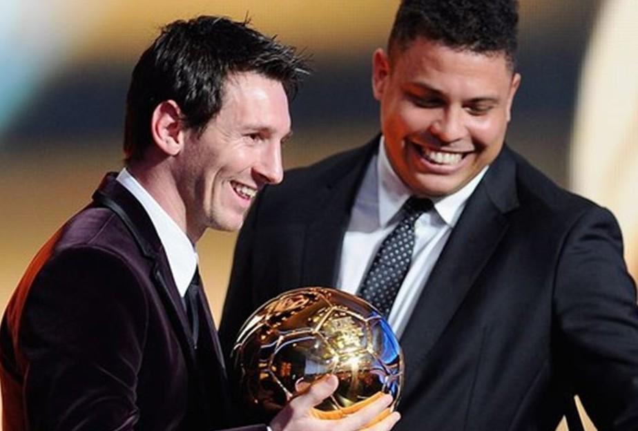 Lionel Messi e Ronaldo