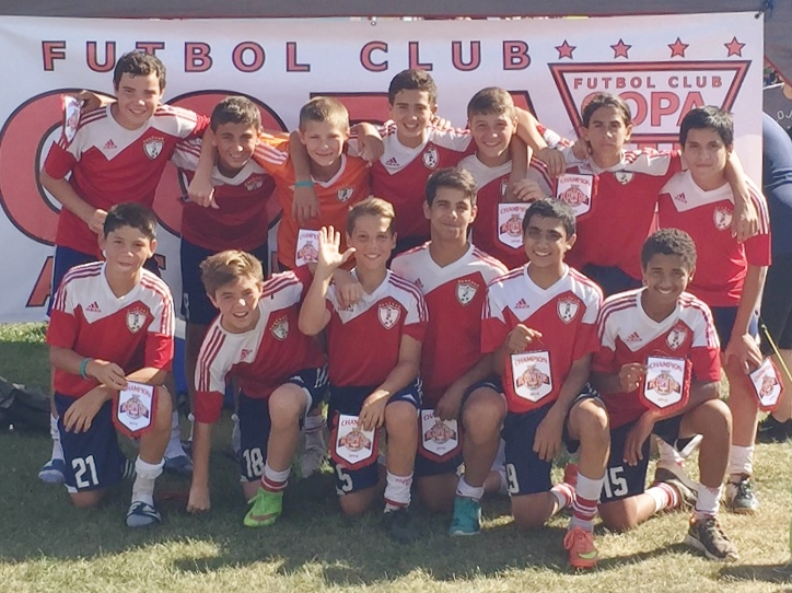 Os Fever (sub-14) do Ironbound SC