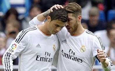 Cristiano Ronaldo e Sérgio Ramos