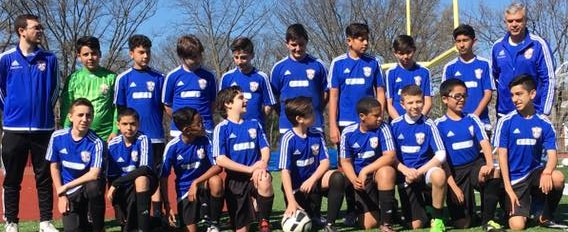 Os Rebels do Elizabeth Youth Soccer