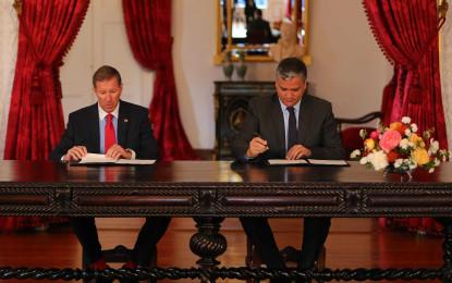 Açores e Bermudas assinaram memorando  de entendimento que visa a cooperação