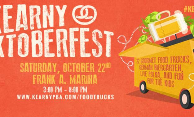"KEARNY, NJ   Trucktoberfest com ""gourmet  food trucks"" e cerveja e música alemãs"