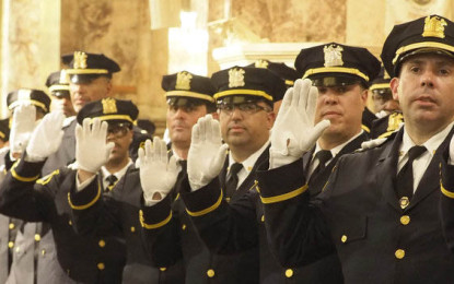 Newark promove 68 polícias