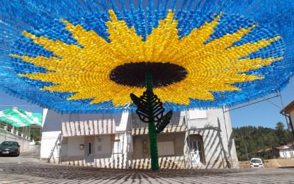 Flores enfeitam até domingo aldeia de Pereiro, em Mação