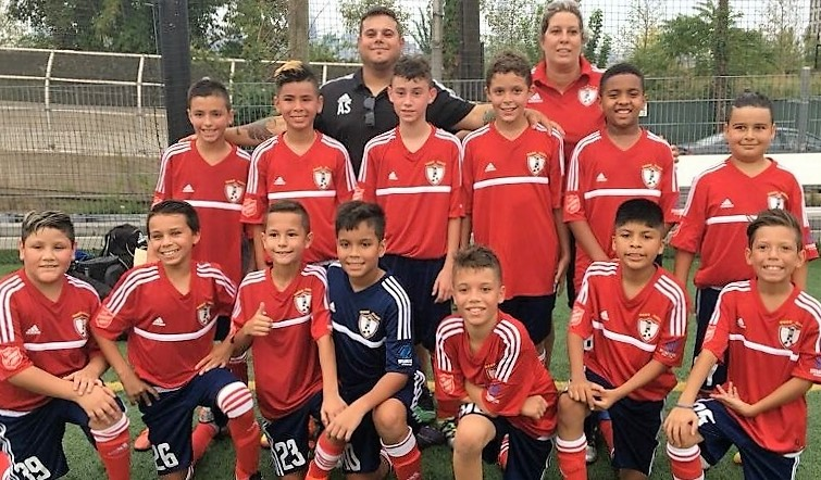 Os Scorpions (sub-12) do Ironbound SC