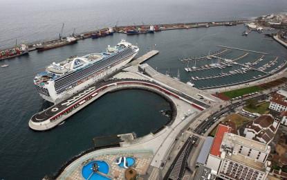Portos dos Açores esperam receber até ao final  do ano 52 mil passageiros em 35 escalas