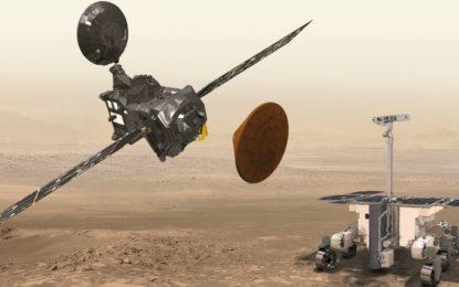 Sonda europeia que chegou anteontem a  Marte tem isolamento térmico feito no Porto