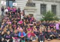 "NEWARK, NJ | Milhares de pessoas participaram na marcha ""Making Strides Against Breast Cancer"""