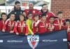 Os Alliance (sub-10) do Ironbound Soccer Club