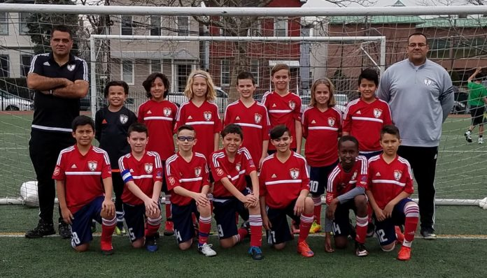 Os Pirates (sub-11) do Ironbound SC