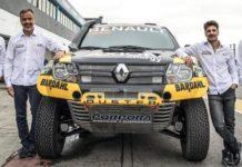 Carlos Sousa com a equipa Renault