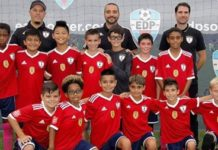 Os Raiders (sub-12) do Ironbound SC
