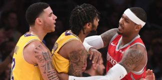 Los Angeles Lakers Vs. Houston Rockets