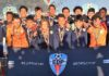Os Super Eagles (sub-14) do Ironbound SC