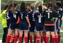 As Avalanche (sub-15) do Ironbound SC