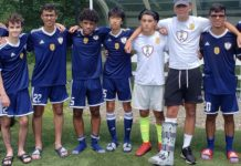 Os Internationals (sub-16) do Ironbound SC